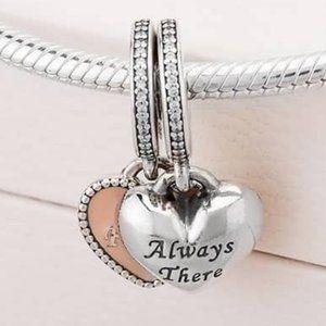 📿Pandora  Always There Heart Dangle Charm